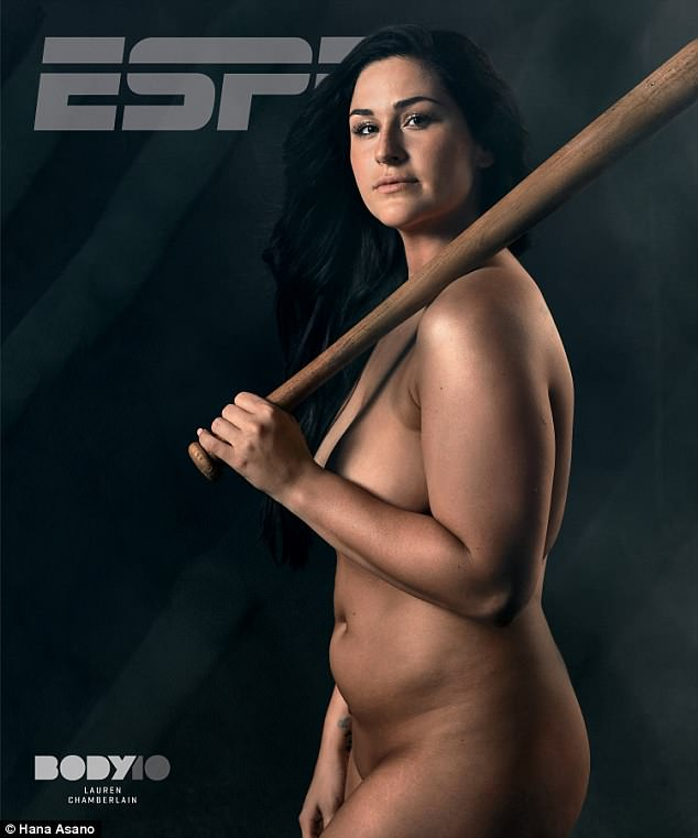 Role model: With her ESPN Body Issue spread, she hopes to inspires other people, specifically girls who might see her photo shoot and realize that athletes can have various body types