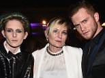 Model Natalia Getty, her mother Ariadne Getty and designer August Getty, right, say they feel as though their family's story has been twisted through a TV series and Hollywood movie