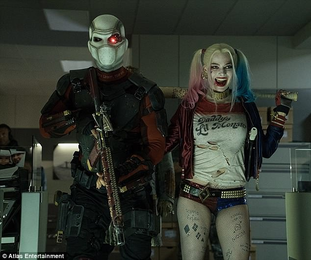 Busy schedule: Margot has  four movies set featuring her Suicide Squad character Harley Quinn after she wraps Quentin Tarantino's Once Upon A Time In Hollywood