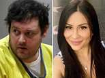 Graphic novelist Blake Leibel, 37, (pictured today) has been sentenced to life in prison for the grisly murder of his Ukrainian fiancee Iana Kasian