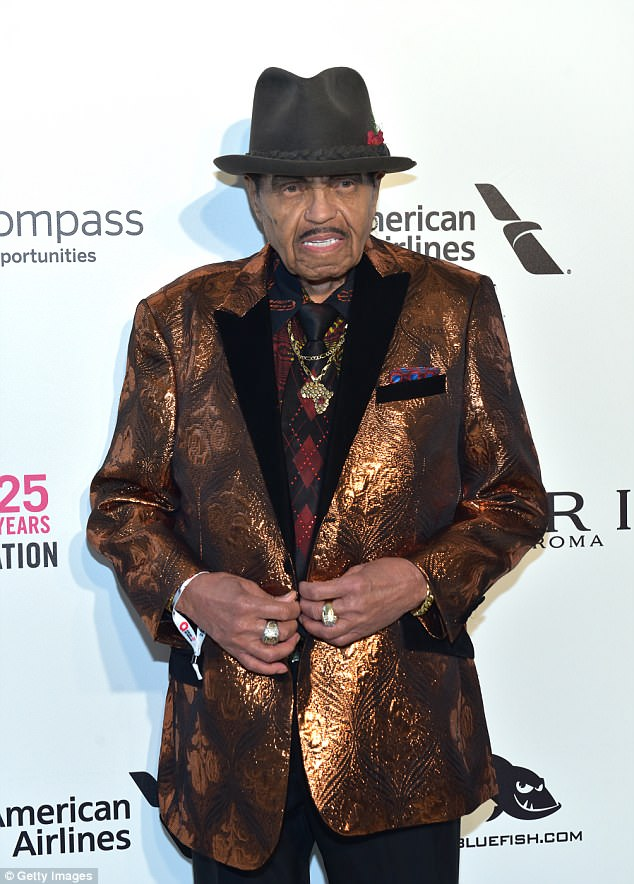 Speaking out: Joe Jackson had broken his social media silence earlier on Sunday after it was revealed he's been hospitalized with stage four pancreatic cancer