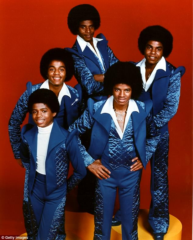 Health: Taking to Twitter on Sunday, the 88-year-old patriarch of the prestigious Jackson family (including the Jackson five, pictured in 1976) shared a cryptic message about sunsets