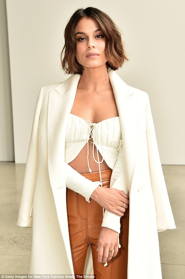 Prejudice: Dynasty star Nathalie Kelley has claimed that she found it difficult to find work in Australia due to the colour of her skin.
