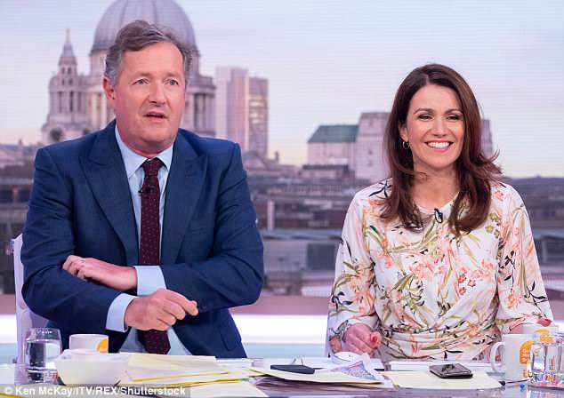 Not buying it: At which an unimpressed Piers fired back: 'Because on this show we get to interview world leaders. In that villa they don't even know that Essex is a county!'