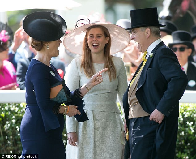 The Duchess of York, 59, sent fans into overdrive when she posted this snap on Instagram, saying she'd had a great day with her 'family' at Royal Ascot