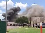 The explosion was reported to have happened at a construction site near the back of the Coryell Memorial Healthcare System in Gatesville, Texas on Tuesday