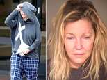 Heather Locklear, 56, was arrested on Sunday after downing a bottle of tequila crashing her Porsche into a pylon on the grounds of her mansion in Thousand Oaks, California
