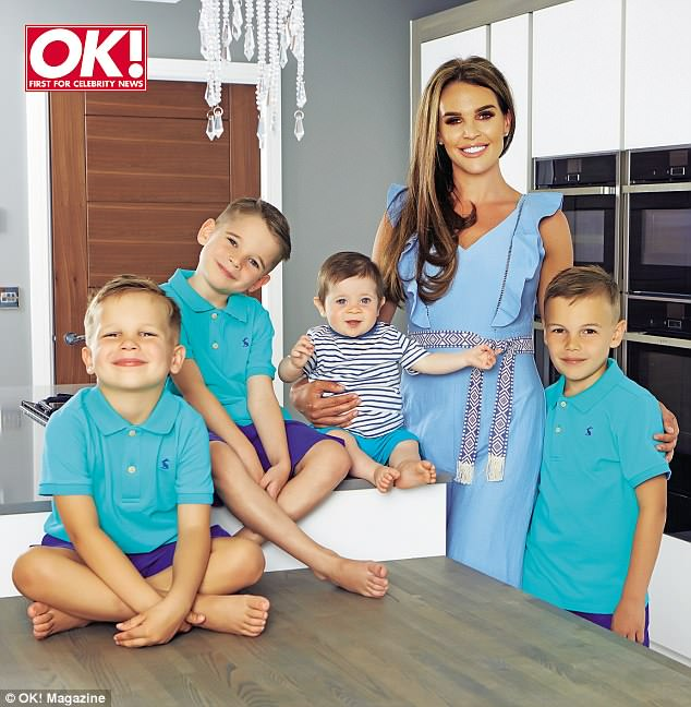 Setting the record straight: Danielle Lloyd has confirmed she will have illegal gender selection to guarantee a daughter when she falls pregnant for a fifth time