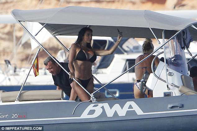 Yacht a lifestyle! Chloe has been sweeping the globe as she has jetted across the world for her glamorous holidays abroad