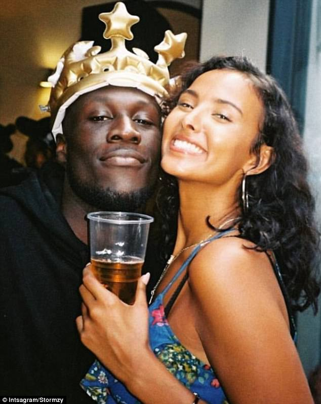 Radio 1 presenter Maya Jama has given fans a rare and candid insight into life with her boyfriend Stormzy at their west London home