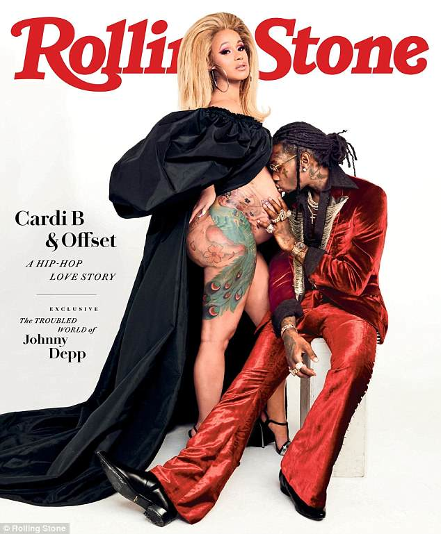 Hip-hop love story: Cardi B and fiance Offset feature in the new issue of Rolling Stone