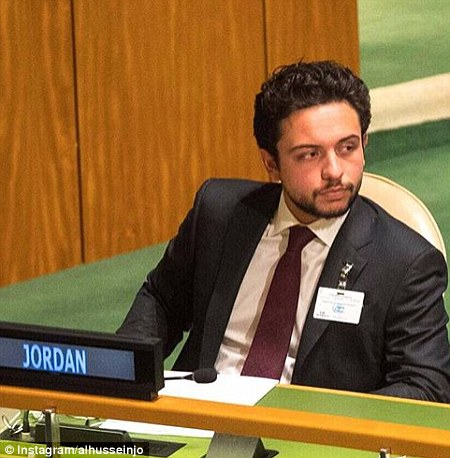 Heading Jordan's delegation at the 72nd Session of the United Nations General Assembly