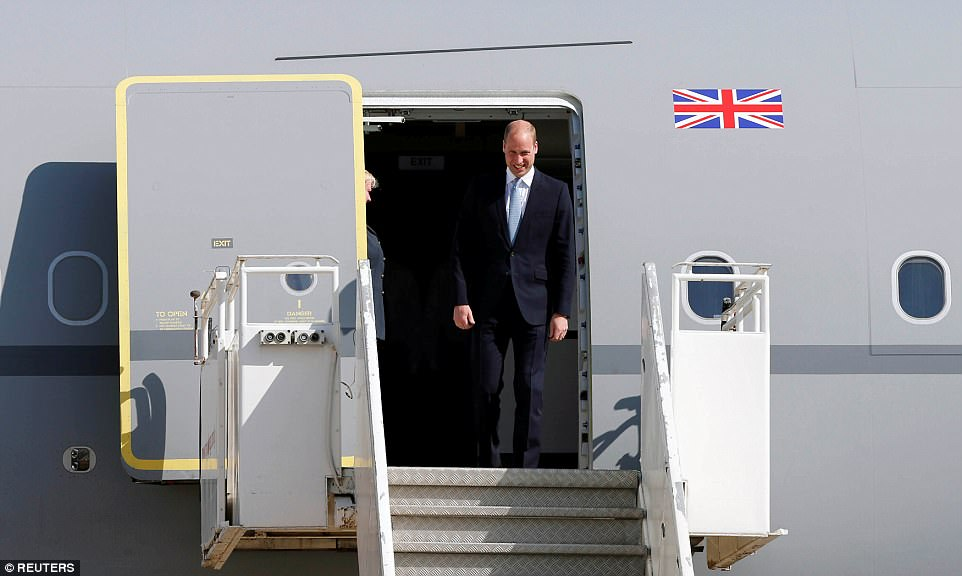 The Duke will make history this week by becoming the first member of the British royal family to pay an official visit to Israel and Palestine