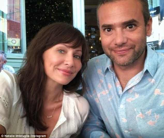 Blossoming romance: Natalie and Matt's love story goes back to when she appeared to confirm their romance with a selfie on Instagram in March last year