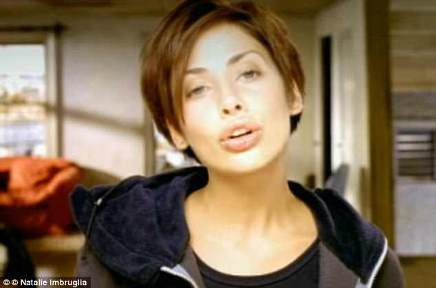 Hey day:'Natalie Imbruglia has not aged at all!!' a viewer commented. 'If only I looked like Natalie Imbruglia'