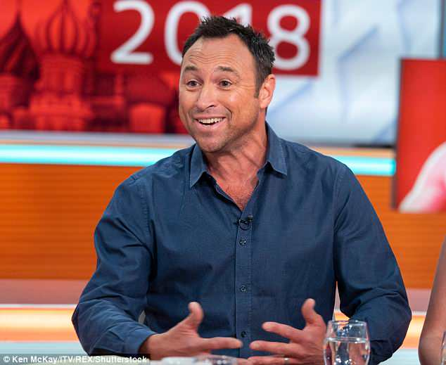 Controversial:Ex-footballer Jason Cundy claimed that female football commentators voices are too 'high-pitched' during a discussion on GMB on Monday morning