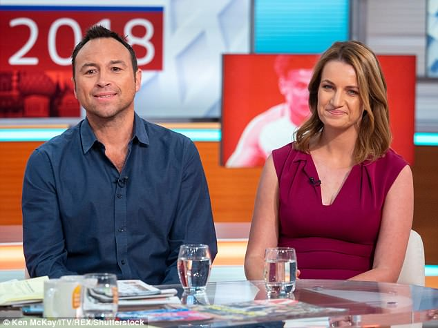 Sports broadcaster Lyndsey Hooper (right) disagreed with Jason's views and said there should be more women for young girls to relate to