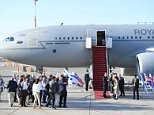 Prince William made history in Israel as his plane touched down inTel Aviv's Ben-Gurion Airport
