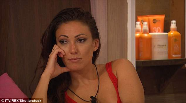 Speaking out: The reality star, hit out at producers, claiming they did not provide enough aftercare for contestants in light of the tragic death of Sophie Gradon earlier this week