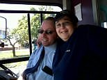 Bus driver Mike Elcombe, 45, was pronounced dead at the scene after his double decker hit the side of an HGV