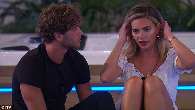 No depth to things: Earlier in the show, the glamour model's steamy romance with co-star Eyal came to an end