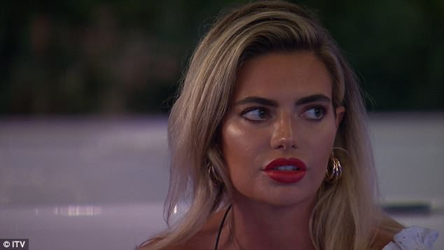 Ooh!Following the split, Wes became an option for the stunner as she says: 'I really get on with Wes. I feel like out of all the boys, he's someone I really can talk to'