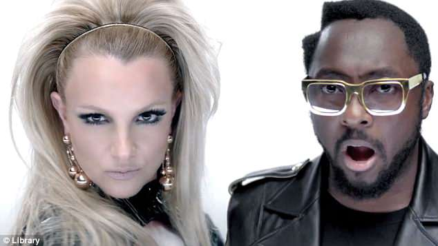 Chart-topper: The star insisted that she'd penned the track, originally titled I Don't Give A F**k, for her debut album. Britney and will.i.am went on to top the charts with the track