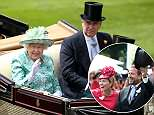 Autumn Phillips and the Queen smiled and seemed to be enjoying each other's company during the iconic racing event