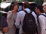 United States Secretary of Transportation Elaine Chao came face to face with a small group of protesters harassing her husband in Washington, D.C. on Monday