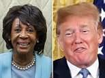 President Donald Trump offered back-handed 'congratulations' to Rep. Maxine Waters for winning her House primary Tuesady night