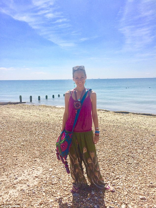 Leah was diagnosed with terminal lung cancer in October 2016, and feared she would die within a year of receiving the devastating news