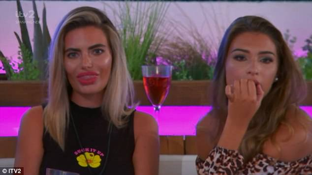 Surprise: Viewers took to Twitter to describe their shock at watching some of the islanders lock lips, while others rejoiced when Eyal got his own back on Megan with his 'little boy' jibes