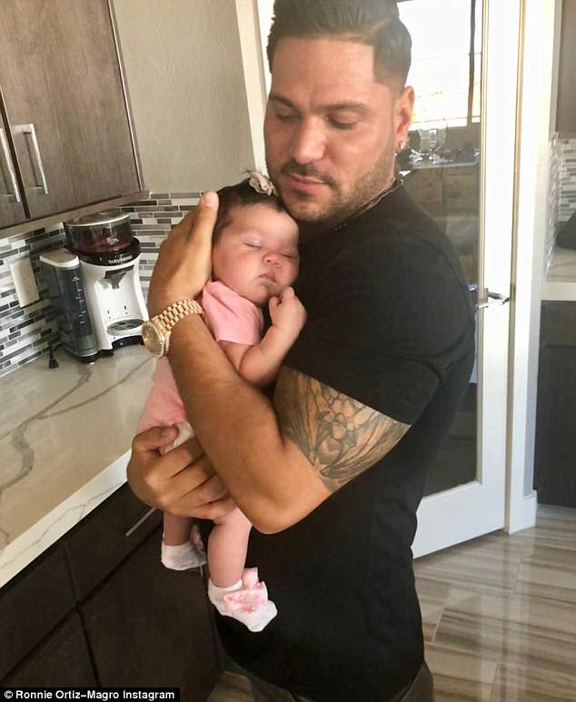 Co-parenting: The 32-year-old reality star and his baby mama are currently separated after months of nasty fights and physical altercations