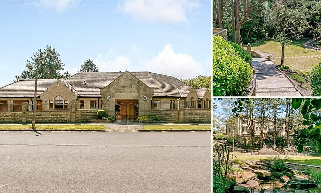 The £2.2M Bradford bungalow at the front but huge house at the back