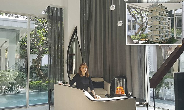 Savills' block of flats with a swimming pool unveiled in Vietnam