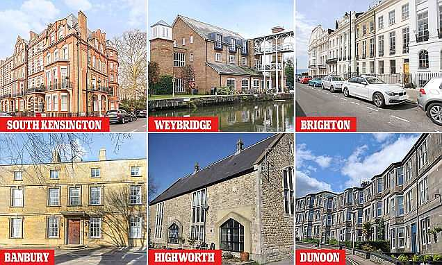 Can you guess the price of these two-bed flats?