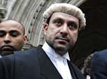 Part-time civil judge Razi Shah is among nine lawyers charged over an alleged fraud plot