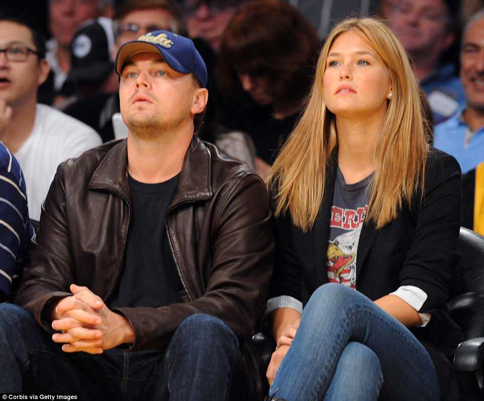 Refaeli is the ex-girlfriend of actor Leonardo DiCaprio (pictured in 2010), from whom she split in 2011 after five years together