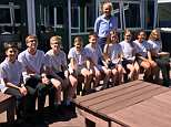 Pupils at the school have ditched their uniforms in favour of PE kits in what the headteacher insists is a move to encourage the best learning environment possible