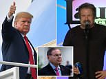 Tricked?A voice sounding very much like that of President Donald Trump is heard in phone call a comedian claims to have made to the commander-in-chief while he was aboard Air Force One