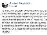 The hilarious post was shared on the Facebook group 'Spotted: Stapleford' earlier today and has amassed hundreds of likes