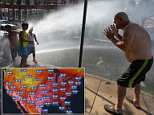 JUNE 29: The Midwest will receive the brunt of the heatwave on Friday as it travels east