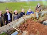 Villagers staged a modern-day dig for victory after getting fed up with their terrible internet connection - and installed their own superfast broadband cable