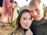 Melissa Meeks, 38, posted a selfie on Instagram showing off her ample cleavage spilling out of a very low-cut pink top just hours before her lingerie-themed divorce party on Saturday