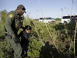"""FILE - In this Aug. 11, 2017 file photo a U.S. Customs and Border Patrol agent escorts an immigrant suspected of crossing into the United States illegally along the Rio Grande near Granjeno, Texas. A U.S. official tells The Associated Press that Border Patrol arrests fell sharply in June 2018 to the lowest level since February, ending a streak of four straight monthly increases. The drop may reflect seasonal trends or it could signal that President Donald Trump's """"zero-tolerance"""" policy to criminally prosecute every adult who enters the country illegally is having a deterrent effect. The official spoke on condition of anonymity because the numbers are not yet intended for public release. (AP Photo/Eric Gay, File)"""