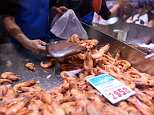 Prawns carrying a potentially fatal virus are being sold on supermarket shelves, believed to have been brought to Australia from imported produce (stock photo)