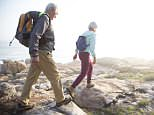 Healthy and fit: 46% of Britons say they will be healthy enough to work at the age of 70