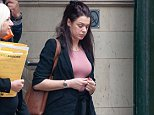 Emily Brown, pictured here in April, hit Stuart Crowther from behind as she was driving her two children home while six times the drug drive limit