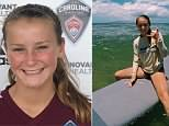 Carolina Rapids player McKenna Woodhead (pictured), 14, was heartbroken when told by a neurologist that her injuries would prevent her from ever kicking a ball again
