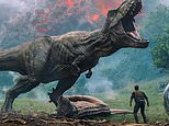 """This image released by Universal Pictures shows a scene from the upcoming """"Jurassic World: Fallen Kingdom."""" (Universal Pictures via AP)"""